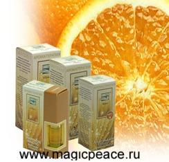 Эфирное масло 100% , Апельсин сладкий 10 мл