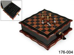 Шахматная доска с фигурками 30*30*10 см, Polite Crafts&Gifts Co., ltd