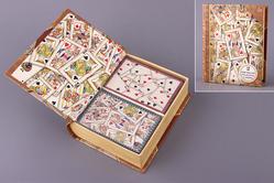 Набор игральных карт из 2 колод в шкатулке 13*11*4 см., Timothy Of St. Louis Sarl